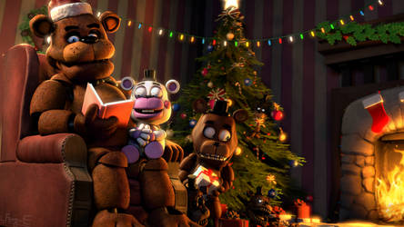 (FNaF SFM) Have yourself a Freddy Little Christmas by Fer-Ge