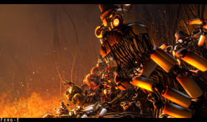 (FNaF SFM) Infestation by Fer-Ge