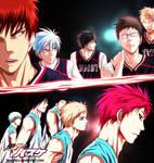 Rakuzan VS Seirin by Yusuflpu