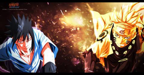 Sasuke and Naruto HD by Yusuflpu