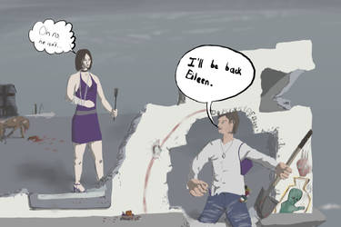 Silent Hill 4: in real life by A1lBlackDays