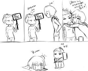 no hugs please by TM-Ayala
