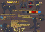 Amshel  Ref sheet by Kaymaro