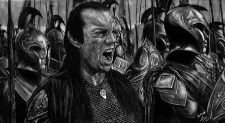 The Great Battle of the Last Alliance by EduardoLeon