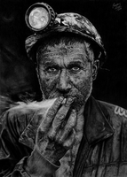 Smoking Coal by EduardoLeon