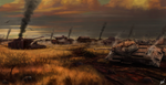 The Kursk Cemetery - 1943 by EduardoLeon