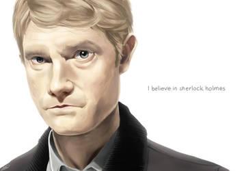 i believe in sherlock holmes by Skwinky