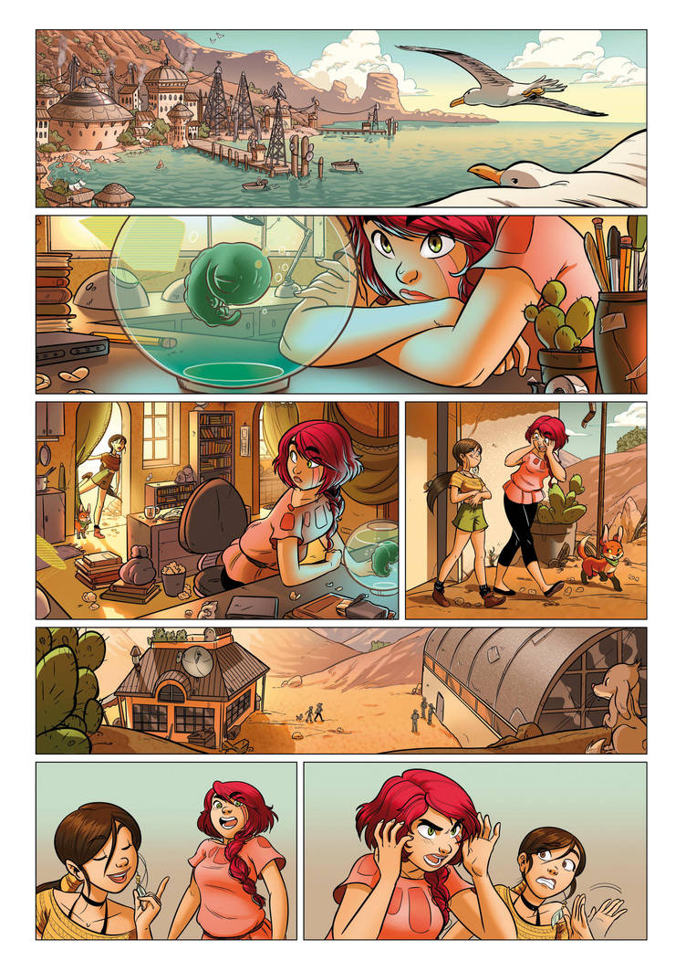 Galatea - page 01 by ElisaFerrari