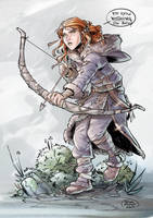 Ygritte COLORE by ElisaFerrari
