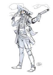 Gunslinger by ElisaFerrari