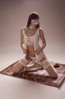 a beautiful woman portrait by alba-spb