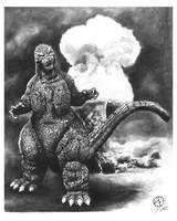 Godzilla by jfife