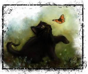 Kitten by Magicade