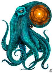 'Tunnel octopus' by Stanislava-Korn