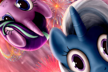 Two ponies HNY19 by everypone