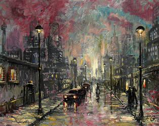 city life by Fel-X