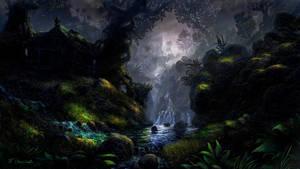 Cabin In The Woods by Fel-X