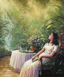 in the garden by Fel-X