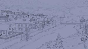 Snowy Winter Evening by Fel-X