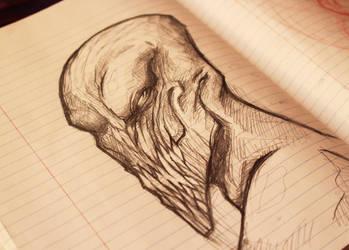 Sketch Alien by TheSonoftheDarkness