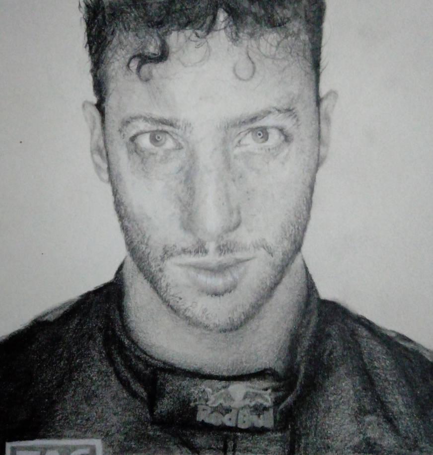 Daniel Ricciardo by thekillingmark