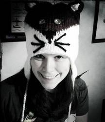 Elle's new hat by theshyfox