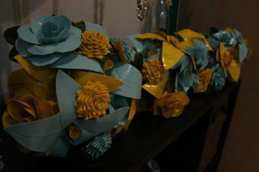 Brides maid bouquets by theshyfox