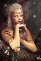 Woodland Fae by CKImagery