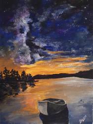 evening silence by Leona-Norten