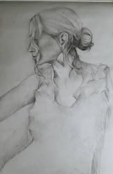 Sketch girl by Leona-Norten
