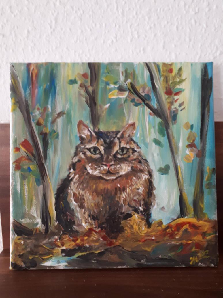 Cat by Leona-Norten