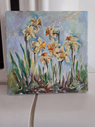 daffodils by Leona-Norten