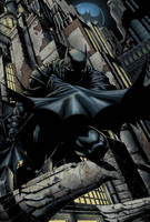 Batman Finch cover by leseraphin