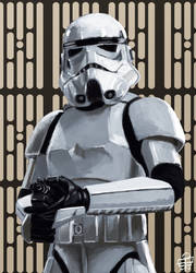 Stormtrooper by leseraphin