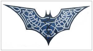 Batman - Dark Knight knotwork by elegaer