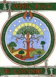 The White Tree of Gondor by elegaer