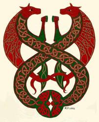 Rohirric Celtic Horses by elegaer