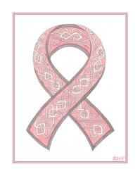 Breast Cancer Knotwork by elegaer