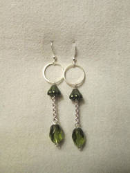 Hanging Earrings by greekgeeklove