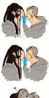 How many licks...? by Biigurutwin