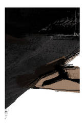 Detail II of abstract in black and brown by Cr8ivDigitalPainting