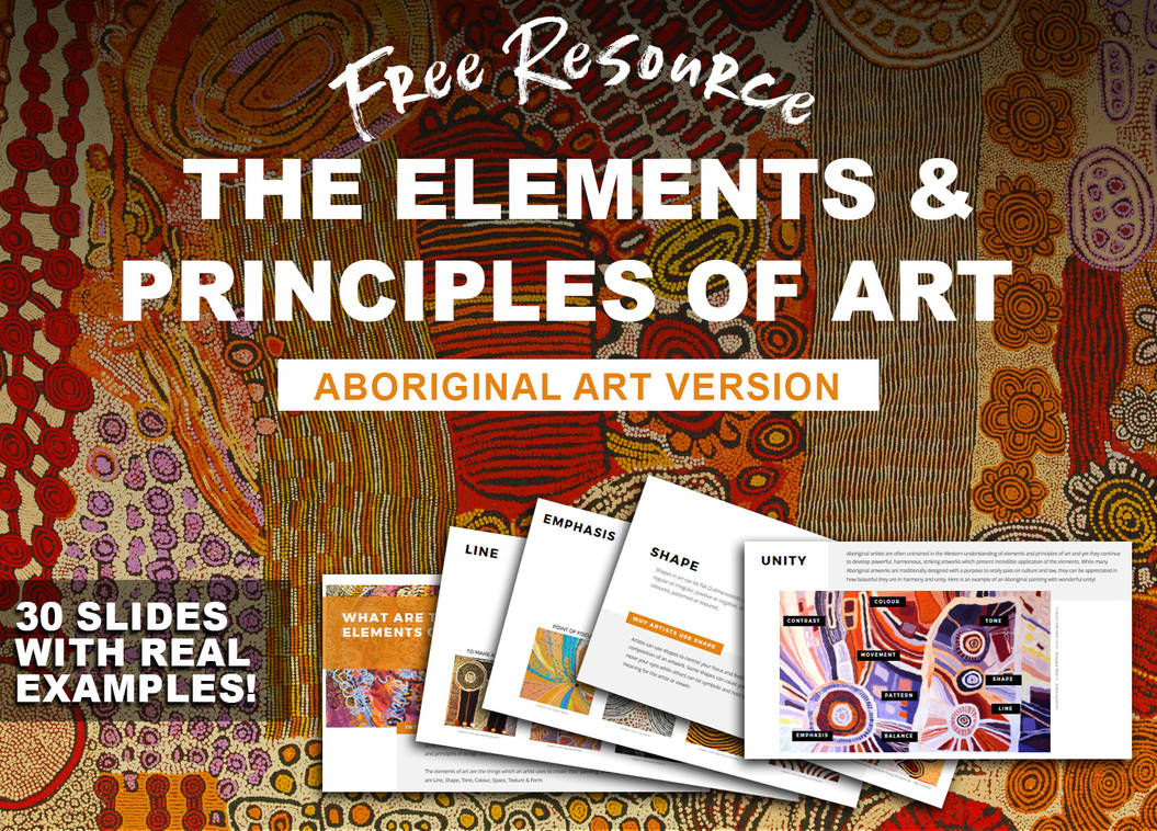 FREE RESOURCE! Elements and Principles of Art by Cr8ivDigitalPainting