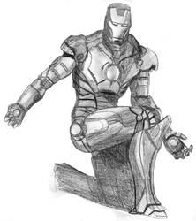 Iron-man by Black-Fencer