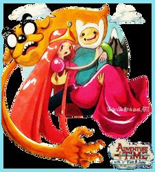Adventure Time by ShugarSketch
