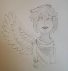 ((WIP)) Pit - Kid Icarus by AncientArrow