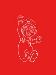 Mario 'Jumpman' Mario by AncientArrow