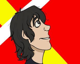 Keith's smile is so precious aa by AncientArrow