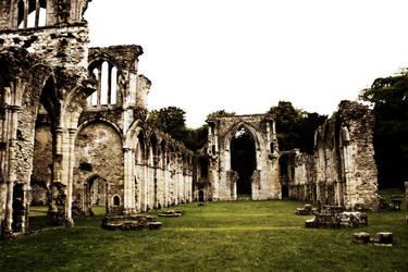 Netley Abbey II by Kaz-D
