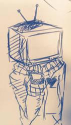TV...? by MonochromeSymphony