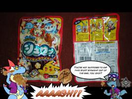 Pokemon Fizzy Candy by Arbok-X
